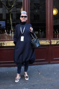 Black is back at London Fashion Week