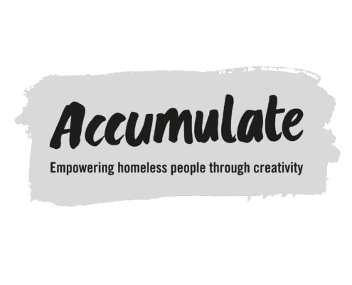 Accumulate's bright, new, shiny logo!