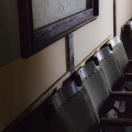 Bowling-Lane-Seats-by-Trey-Stewart-resident-at-North-London-YMCA-Hostel.