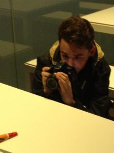Concentrating and taking images