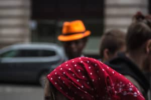 Kat Jagne: The Red head Scarf
