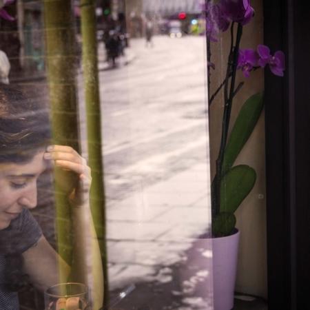 Bee: Girl in a Window
