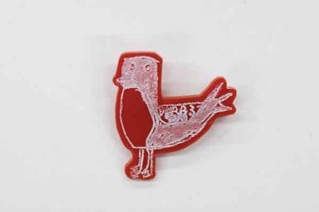 Accumulate-Red-Bird-Brooch-Image