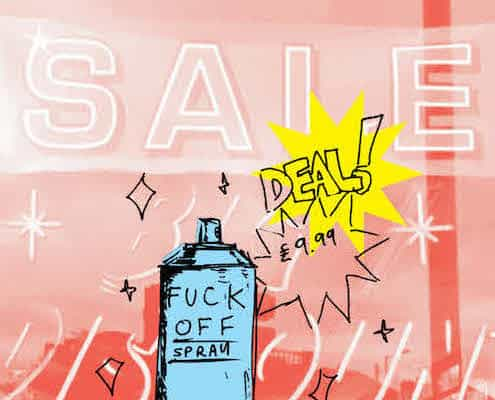F_ Off Sale Poster