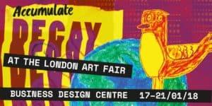 DECAY at The London Art Fair Invitation