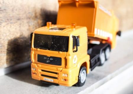 Amba Assuniak Yellow Lorry Photograph
