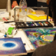Art Materials for one Accumulate Workshop