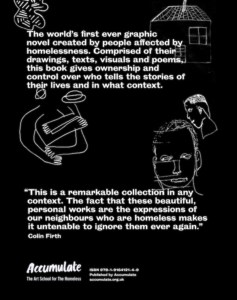 The book of homelessness back cover